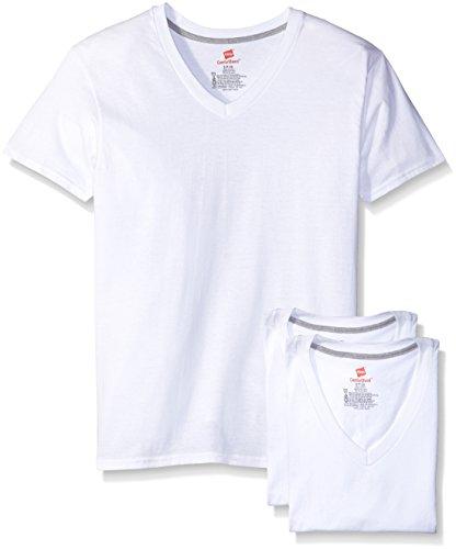 Hanes Men's Comfort Blend V-Neck Undershirt - XX-Large - White (3-Pack)