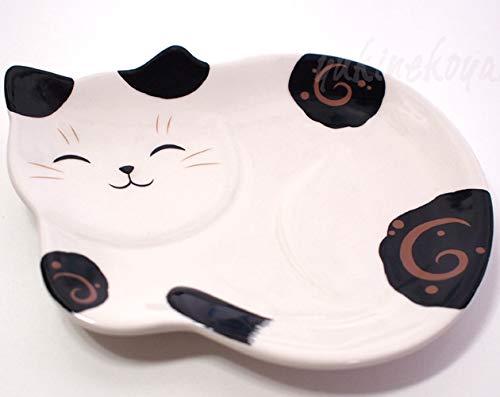 Matsumoto-Toki Cat Plate (Tubular Cat) 1705
