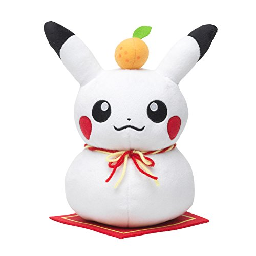 Pikachu-Japn-nuevo-ao-suerte-de-versin-de-arroz-8-Peluche-Pokemon