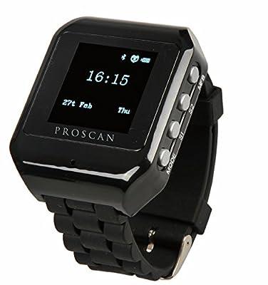 Proscan 1.5-Inch Bluetooth Digital Watch - Black