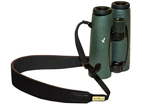Vero Vellini Slip Proof Binocular Strap, Black With Black ()