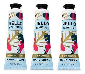 Bath and Body Works 3 Pack Hello Beautiful Hand Cream. 1 oz ()