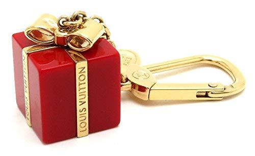 [ルイ ヴィトン] LOUIS VUITTON ビジューサック サプライズ キーホルダー キーチャーム GP レッド 赤 ゴールド M66188 [中古]   B07RS1PYMD