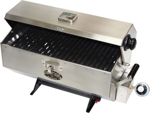 Dickinson Marine 00-SBQ-L Large Sea-B-Que Stainless Steel Marine Grill