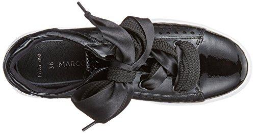 Basse Marco black Patent Nero Ginnastica Scarpe Donna 23601 Tozzi Da 8qwXSx8rA