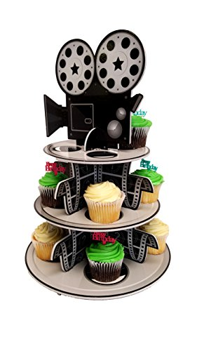 Cupcake Stand For Children's Parties, 3 Tier Movie Night Theme!]()
