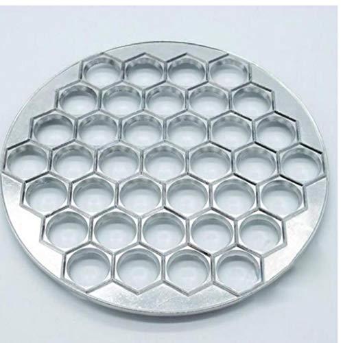 Russian Dumpling Maker 37 Holes Aluminum Ravioli Mold Pastry Kitchen Tools