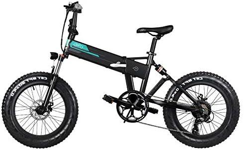 Kirin FIIDO M1 - Bicicleta eléctrica Plegable de Aluminio de 20 ...