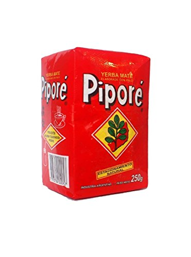 Pipore Yerba Mate Traditional 250g (4-pack) (Mate Plain Yerba)