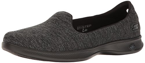 Go Womens Heather Black Zapatillas Step Lite SS17 Gray Origin Skechers dIqpUSwp
