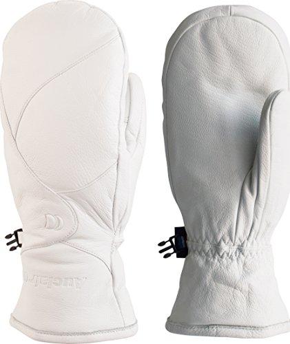Auclair Women's Charlevoix Waterproof Winter Mittens: Medium, White by Auclair