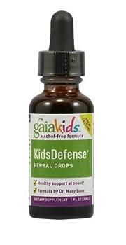 GaiaKids KidsDefense Herbal Drops, 2 Ounces