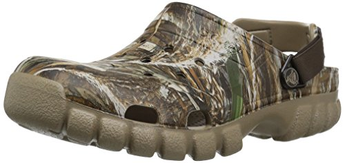 Crocs Offroad Sport RT Max5 2 CLG Clog, Chocolate/Khaki, 11 US Men/ 13 US Women M US by Crocs