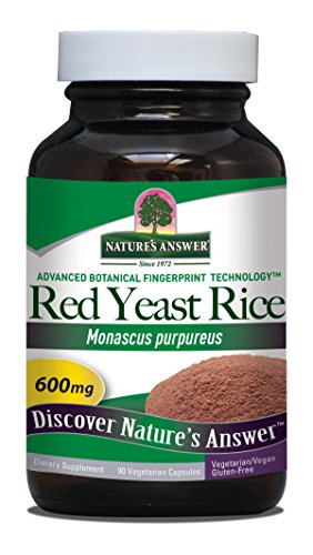 Nature's Answer Red Yeast Rice Vegetarian Capsules, 90-Count - 41x0aaw7AVL - Nature's Answer Red Yeast Rice Vegetarian Capsules, 90-Count