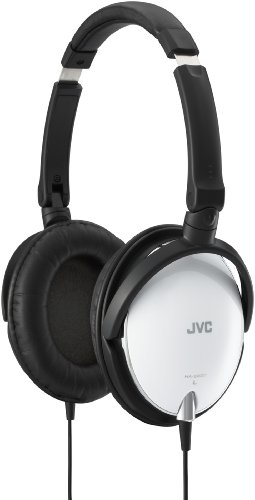 JVC HAS600/WHITE - Headphones (ear-cup ) - active noise canceling