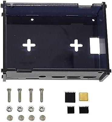 ILS – Caja acrílica Negra con Tornillo Fino Negro Cobre Aluminio ...