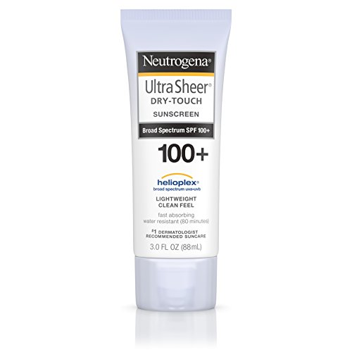 Neutrogena Ultra Sheer Spf#100 + Dry Touch Lotion 3 Ounce
