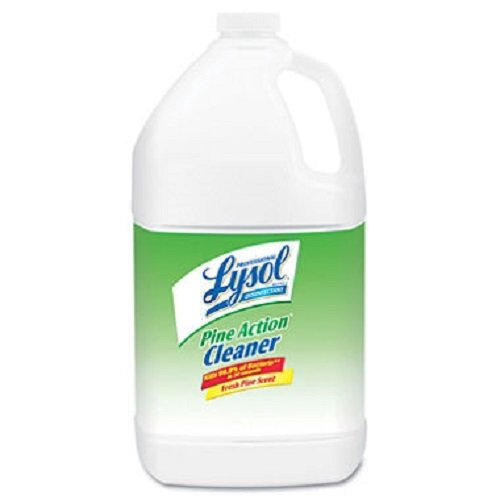Professional LYSOL Brand Products - Professional LYSOL Brand - Disinfectant Pine Action Cleaner, 1 gal. Bottle - Sold As 1 Each - Kills staph, strep, salmonella, pseudomonas and other harmful ()