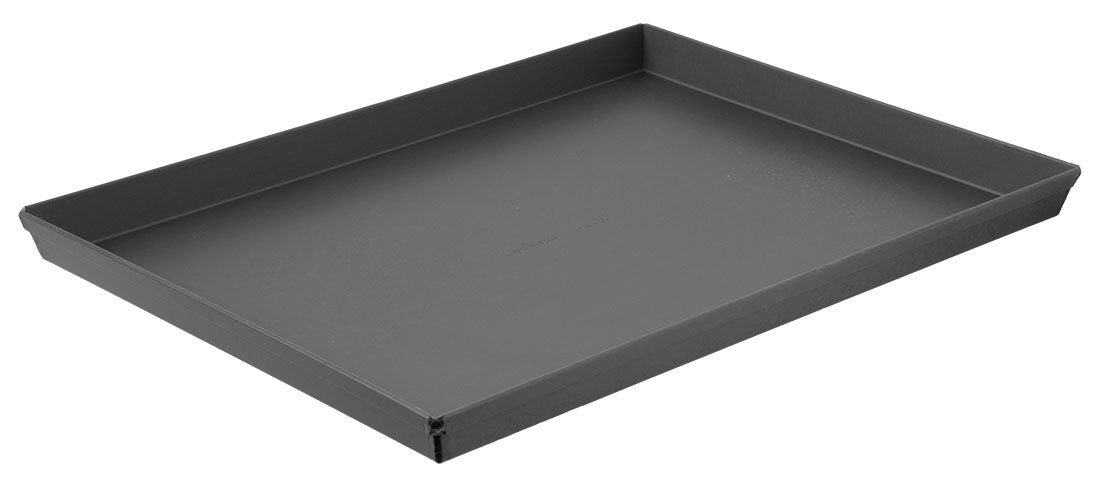 LloydPans Kitchenware 16x12 Inch Sicilian Style Pizza Pan. Made in the USA, Fits Home Ovens
