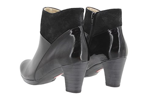 casual shoe leather comfort Woman bootie Piesanto comfort shoes 9805 wide HY6wqg6