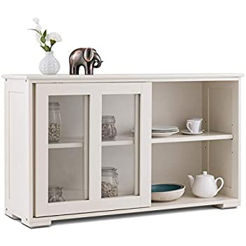 Amazon Com Tms Pacific Stackable Storage With Glass Door