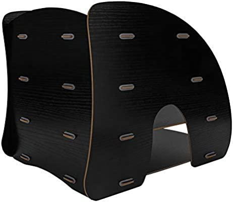 soporte de escritorio de 4 capas Organizador de escritorio de madera bandeja para cartas gabinete de almacenamiento organizador de escritorio revistero apilable
