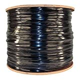 Videosecurity4u 1000 Foot Siamese Rg59 Cable Black