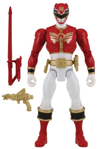 Power Rangers Megaforce Red Ranger Costume (Power Rangers Super Megaforce - Power Rangers Megaforce - Red Ranger Action Hero, 5-Inch)