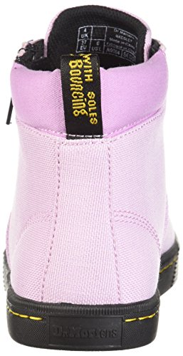fine Canvas Mallow Textile MAEGLEY Woven Fashion Martens Dr Women's Pink Boot vwqzHqU