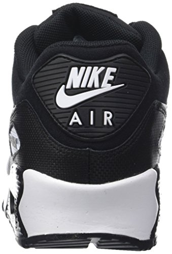 Chaussures Femme 90 NIKE de Gymnastique Black White 047 WMNS Noir Max Air q0xAwx