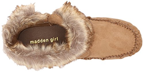 Madden Girl Womens Finnn Boot Brown