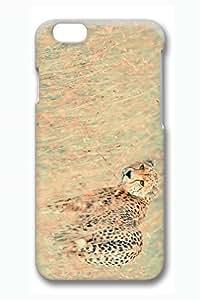 Case Cover For HTC One M7 3D Fashion Print Drop Protection Case Cover For HTC One M7 Wild Cheetah Scratch Resistant es