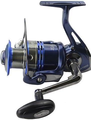 ZCC/Spinning tecnología alemana carrete de pesca 10 rodamientos de ...