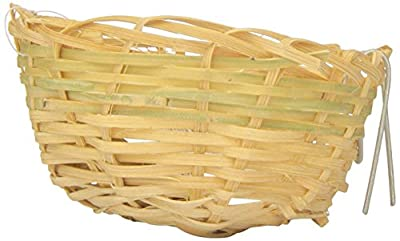 Prevue Pet Products BPV1153 Bamboo Canary Bird Twig Nest, 3-Inch from TopDawg Pet Supply