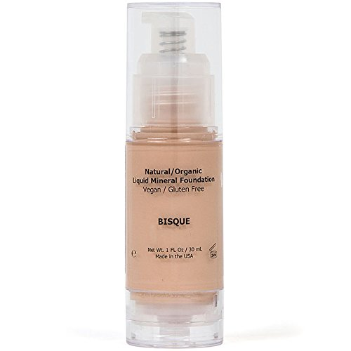 Shimarz Mineral Liquid Foundation, Covers Uneven Skin Tone, Rosacea, Blemishes, Rashes, Acne, Dark Circles, Pores, With Full Coverage That Lasts All Day With No Irritation To Sensitive Skin - - Stock 1 Rms