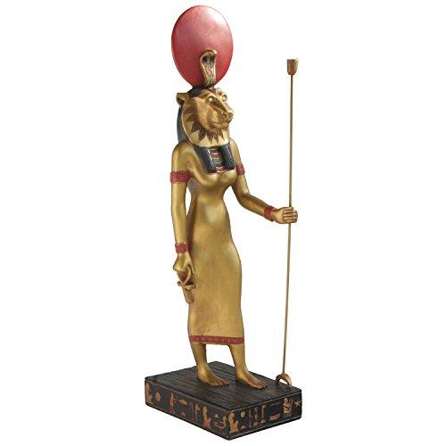 Egyptian Goddess Sekhmet Statue, 14.25 Inches