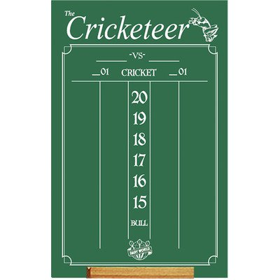 Cricketeer Chalkboard - Cricket Darts Scoring