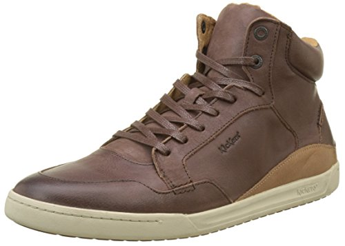 Kickers Herren Crossover Hohe Sneaker Marron (Marron Fonce Smu)