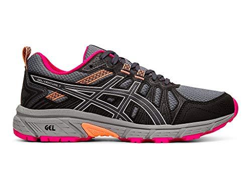 ASICS Women's Gel-Venture 7 Running Shoes, 7M, Carrier Grey/Silver