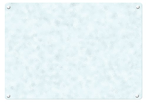 (Catskill Craftsmen 12-Inch Tempered Glass Cutting Board with Padded Feet)