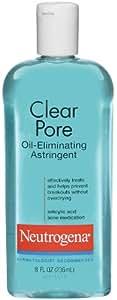 NeutrogenaClear Pore Oil Eliminating Astringent, 8 Ounce