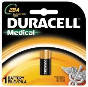 Duracell Medical Battery 28A 6 Volt 1 EA - Buy Packs and SAVE (Pack of 5)