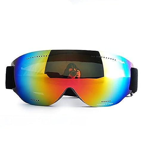 Z-P Unisex Fashion Ski Equipment Snowboard Cycling Hiking Goggles UV400