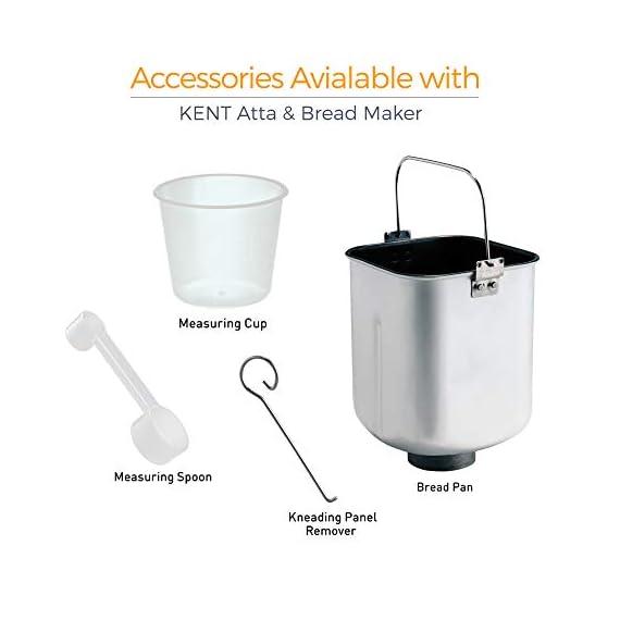 KENT - 16010 Atta and Bread Maker 550-Watt (Steel Grey) 3