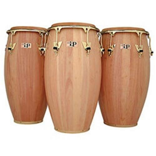 Latin Percussion LP522XAW Classic 11'' Conga Quinto, Natural with Gold Hardware by Latin Percussion