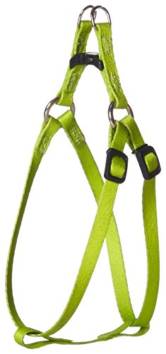 Coastal Pet Products Lil Pals Comfort Wrap 06245 5/16 Inch Nylon Adjustable Dog Harness, 8-14 Inch Girth, Lime