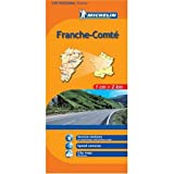 Michelin Map No. 520 Franche-Comte (France) (French Edition)