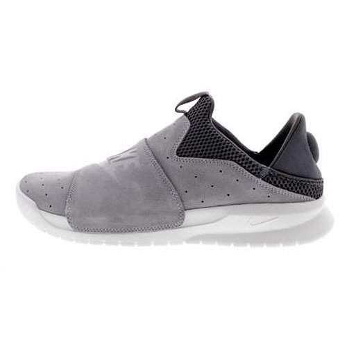 New Nike Men's Benassi Slip Sneaker Grey/Off White 8 by NIKE
