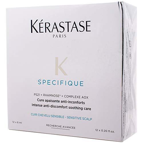 Kerastase Specifique Cure Apaisante Intense Treatment, 12 x 0.20 Ounce