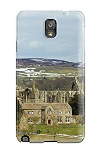 New Style 4039207K77920326 Anti-scratch And Shatterproof Bolton Priory Phone Case For Galaxy Note 3/ High Quality Tpu Case